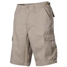 MFH BDU férfi rövidnadrág khaki