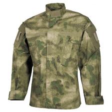 MFH US ACU blúz Rip-Stop minta HDT-camo FG férfi kabát, dzseki