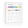 Mi-Light Vezeték nélküli , hálózati, fali , érintős, vezérlő, RGB + hideg-meleg fehér (CCT) ...