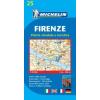MICHELIN Firenze térkép - Michelin 25