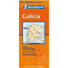 MICHELIN Galicia térkép - Michelin 571 térkép