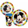 Mickey Disney Mickey micro étkészlet, műanyag szett