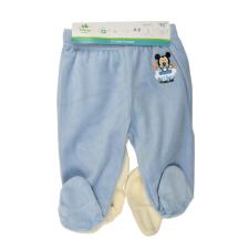 Mickey Egér kék, vajszín baba nadrágok gyerek nadrág
