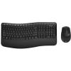 Microsoft BlueTrack Desktop Comfort 5050 Billentyűzet + vezeték nélküli egér, Fekete (PP4-00019)