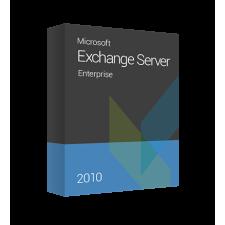 Microsoft Exchange Server 2010 Enterprise, 395-02556 elektronikus tanúsítvány operációs rendszer