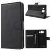 Microsoft Lumia 950, Oldalra nyíló tok, stand, gravírozott, pillangó minta, fekete