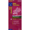 Midi-Pyrénées térkép - IGN R16