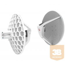 MIKROTIK RBLHGG-60ad Wireless Wire Dish 60Ghz 802.3af/at PtP 1.8Gb/s - 2 pcs hub és switch