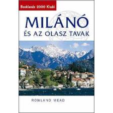 Milanó és az olasz tavak útikönyv - Booklands 2000 térkép