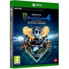 Milestone Monster Energy Supercross 4 - Xbox One videójáték