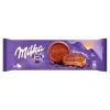 Milka Choco Wafer kakaós töltelékkel töltött, alpesi tejcsokoládéval bevont ostya 6 db 180 g