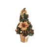 Mini karácsonyfa – ajtódísz