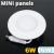 Mini kör LED panel (120 mm) 6 Watt természetes fehér