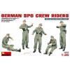 MiniArt 1/35 Német SPG személyzet modell figura szett
