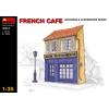 MiniArt FRENCH CAFE épület dioráma makett Miniart 35513
