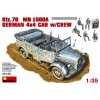 MiniArt Kfz. 70 (MB L1500A)German 4x4 Car w_Crew katonai jármű makett Miniart 35139