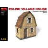 MiniArt POLISH VILLAGE HOUSE épület dioráma makett Miniart 35517
