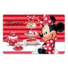 Minnie Disney Minnie tányéralátét zsúr 3D