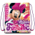 Minnie Sporttáska tornazsák Disney Minnie 41 cm