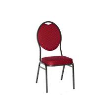 Minőségi szék fémből - MONZA, piros bútor