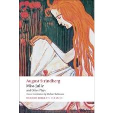 Miss Julie and Other Plays – Johan Strindberg idegen nyelvű könyv