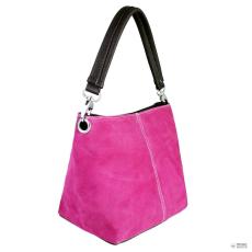 Miss Lulu London E1403 - Miss Lulu Suede egy szíj kézi táska rózsaszín