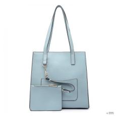 Miss Lulu London E1852 - MISS LULU első zseb válltáska táska pénztárca - kék 82409af77a