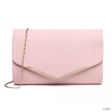 Miss Lulu London LH1756 PK - Miss Lulu Envelope Táska Clutch táska rózsaszín