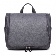 Miss Lulu London LT1757-D GY - Miss Lulu try utazó táska Plain szürke kézitáska és bőrönd