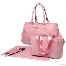 Miss Lulu London LT6638 - Miss Lulu matternity Changing válltáska táska rózsaszín