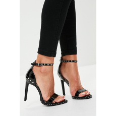 Missguided - Szandál Studded Sole Barely There - fekete