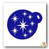 Mk Kreatív Stúdió Arcfestő sablon - Csillagok minta