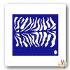 Mk Kreatív Stúdió Arcfestő sablon - Zebra minta
