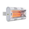 MO-EL HATHOR LG csökkentett fényerejű hősugárzó fehér színű - M791LGW - 2000 W