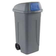 Mobil Plastic Műanyag kültéri hulladékgyűjtő, 100 l űrtartalom, szürke/kék% szemetes
