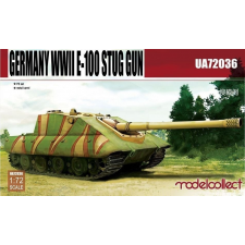 Modelcollect Germany WWII E-100 STUG gun makett UA72036 rc autó