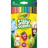 Modell & Hobby Kft. Crayola 10 db Illatos, lemosható, vékony filctoll
