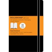 Moleskine Soft Cover Pocket Ruled Notebook Black – Moleskine naptár, kalendárium