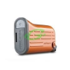 Momax narancs színű iPower USB 2x lámpa funkcióval (6000 mAh)
