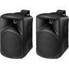 Monacor PAB-48/SW kétutas hangfal (pár), fekete