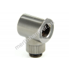 Monsoon adapter 90° 19/13mm - Fekete Króm
