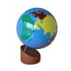 Montessori Színes földgömb