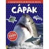 Móra Kiadó - CÁPÁK - A KIHAGYHATATLAN MATRICÁS MAPPA - TÖBB, MINT 1000 MATRICA