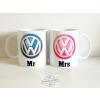 Mr és Mrs Volkswagen bögre