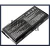 MSI BTY-L75 4400 mAh 6 cella fekete notebook/laptop akku/akkumulátor utángyártott