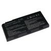 MSI GT663R 6600 mAh 9 cella fekete notebook/laptop akku/akkumulátor utángyártott