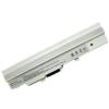MSI Wind U100W 2200 mAh 3 cella fehér notebook/laptop akku/akkumulátor utángyártott