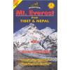 Mt Everest from Tibet and Nepal (No.32) térkép - Himalayan Maphouse