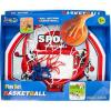 Műanyag kosárlabda palánk és gyűrű