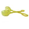 Műanyag saláta kiszedő olló sárga (102)